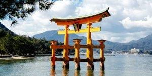Miyajima Japan, Schreininsel Tagesausflug