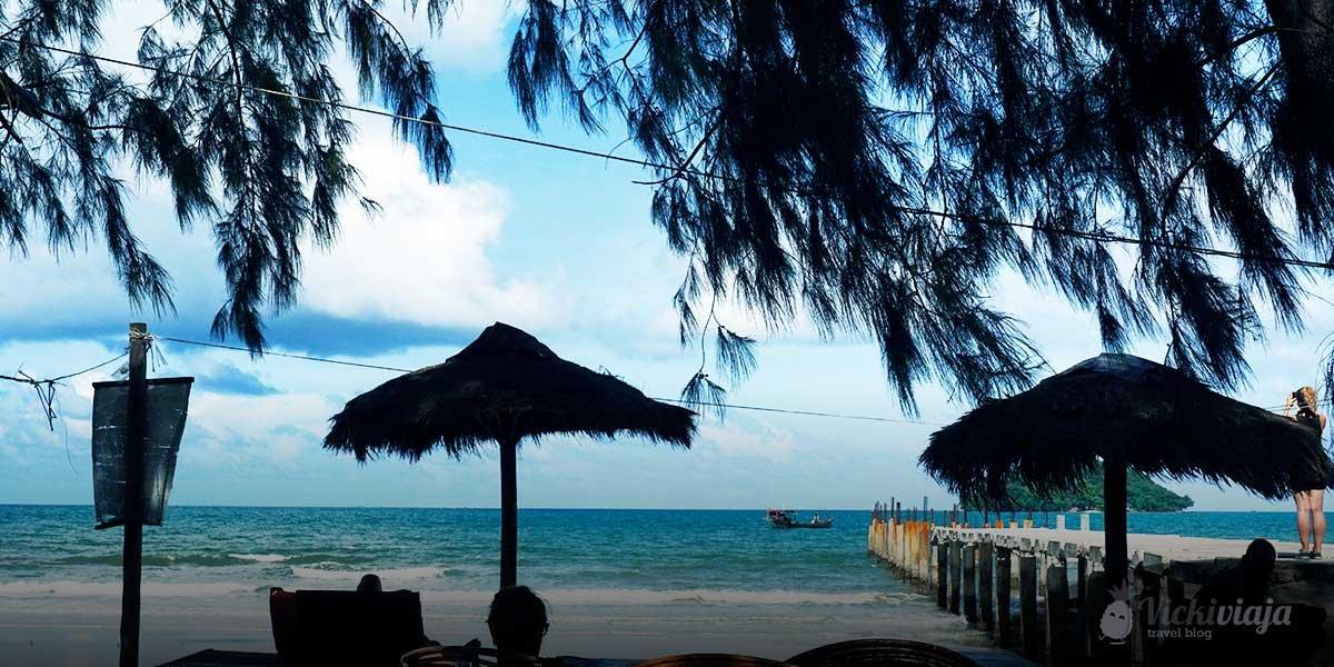 Otres Beach 2 Sihanoukville Kambodscha vickiviaja