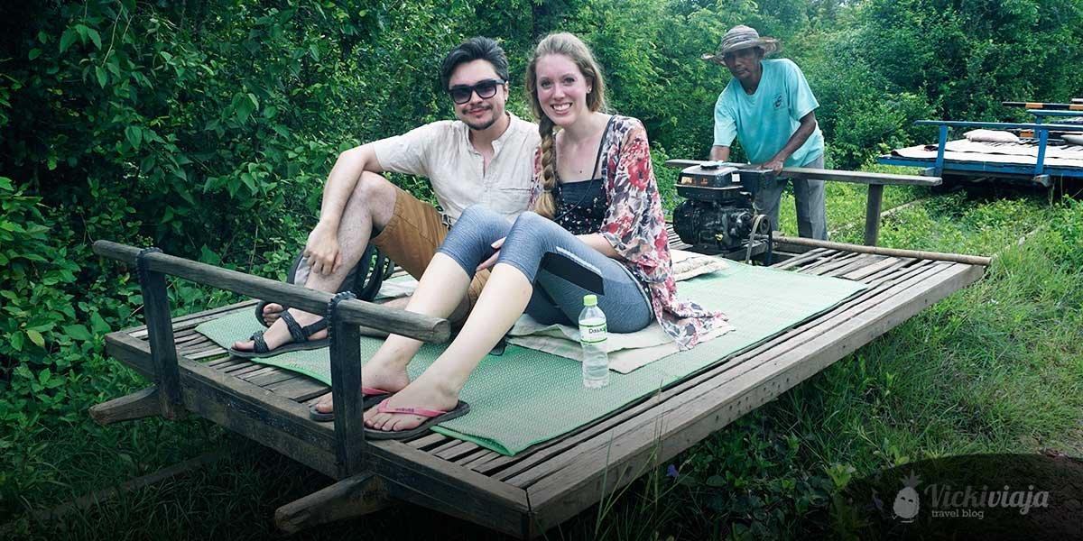 battambang Bambuszug vickiviaja