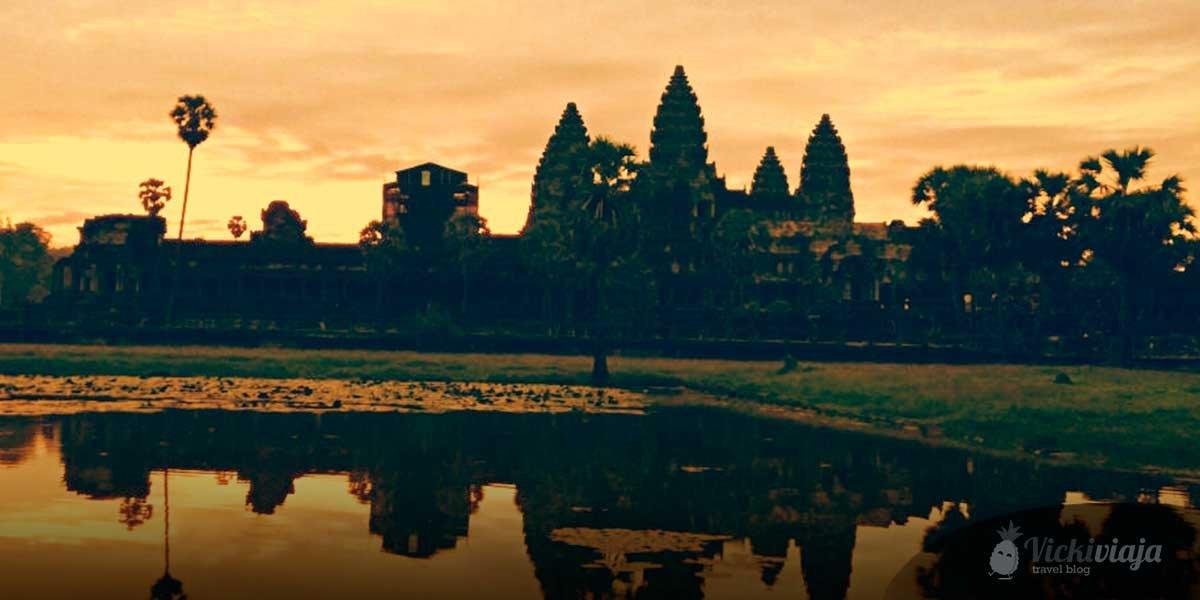 Angkor Wat I Angor Thomb I Thomb Raider Temple I Cambodia I Three Days Tour I Day One I once in a lifetime I Bucketlist I @vickiviaja