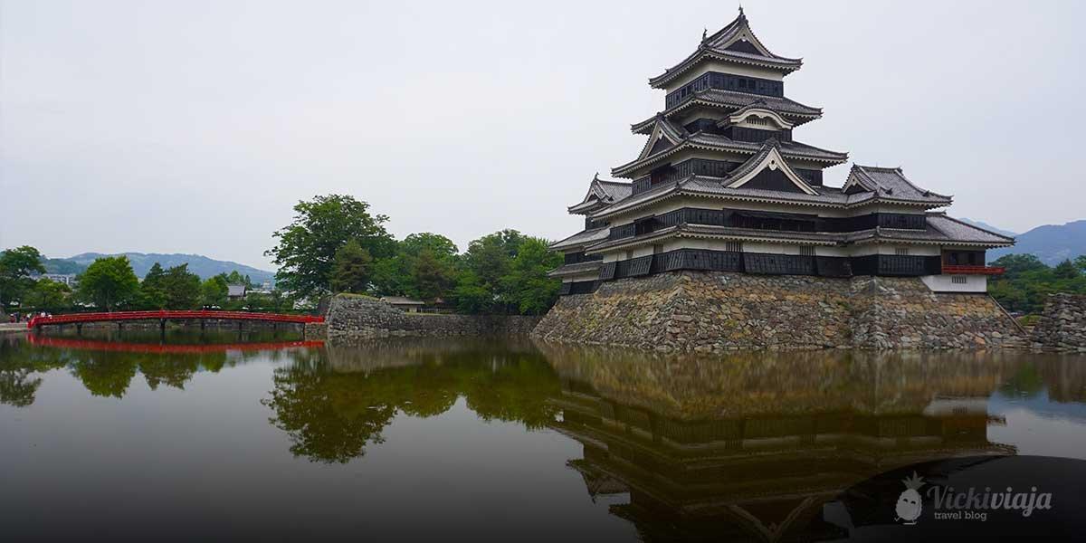 The Castle of Matsumoto, Japanese castle, crow castle