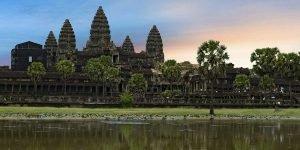 Cambodia Itinerary, Angkor Wat, Sunrise