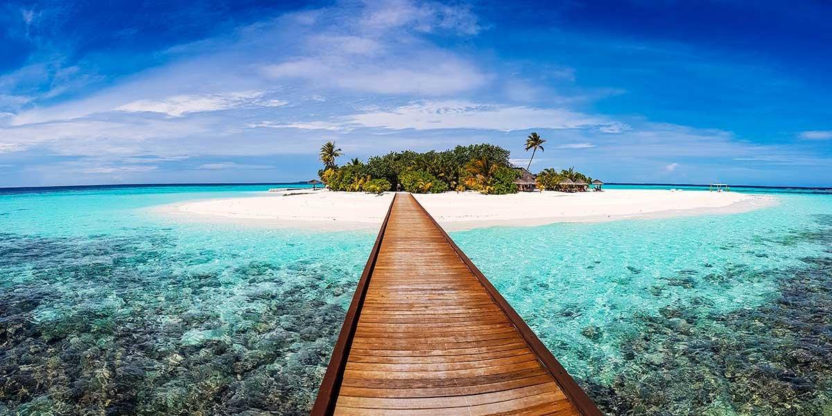 Malediven Ferien, Schönste Insel Malediven, Traumstrand