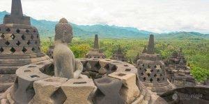 Yogyakarta Sehenswürdigkeiten, Borobudur, Indonesien