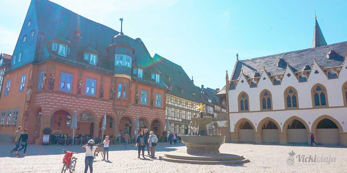 Goslar Germany, Market square