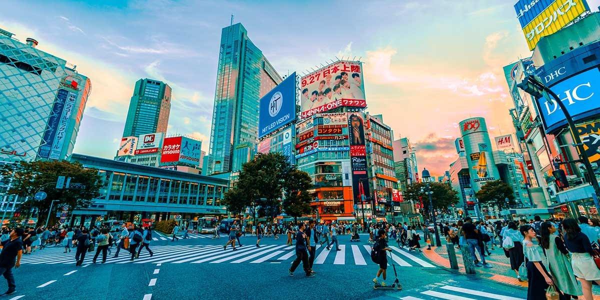 Die beste Unterkunft in Tokio, Großstadtleben, Straße