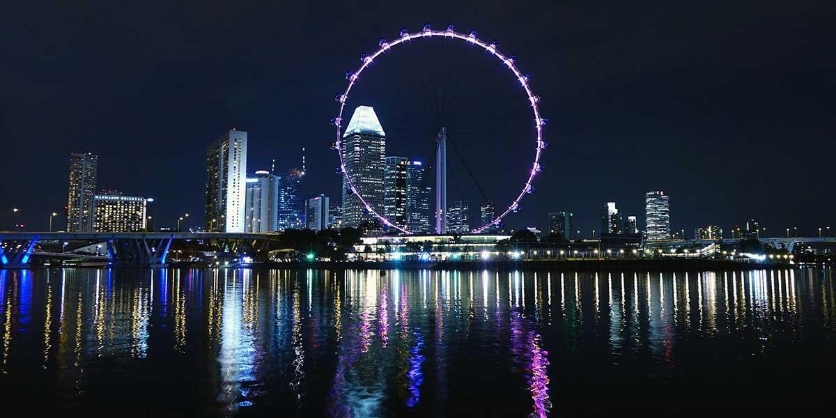 Singapur Sehenswürdigkeiten, Skyline