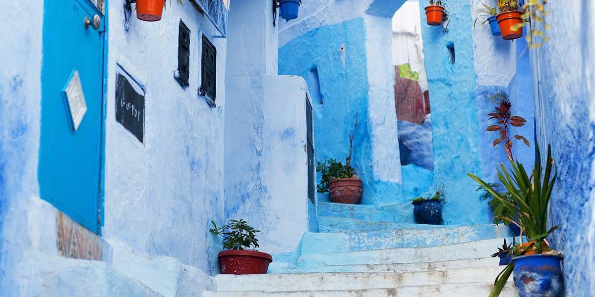 Sehenswürdigkeiten in Chefchaouen Marokko