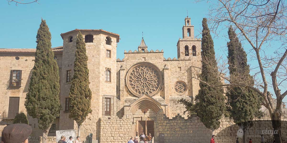 A day trip to Sant Cugat de Valles from Barcelona