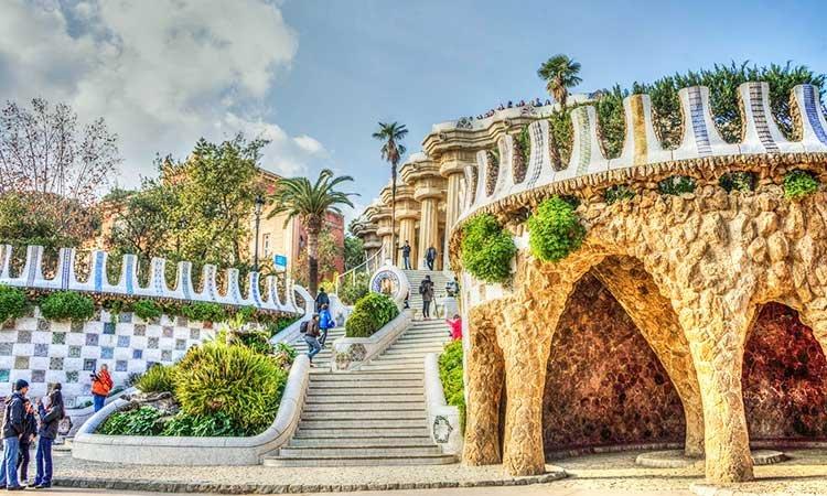 Park Güell, Antoni Gaudí, Park in Barcelona