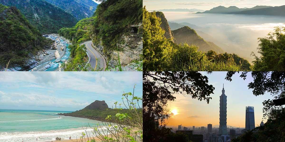 Taiwan Itinerary 7 days, beautiful places in Taiwan