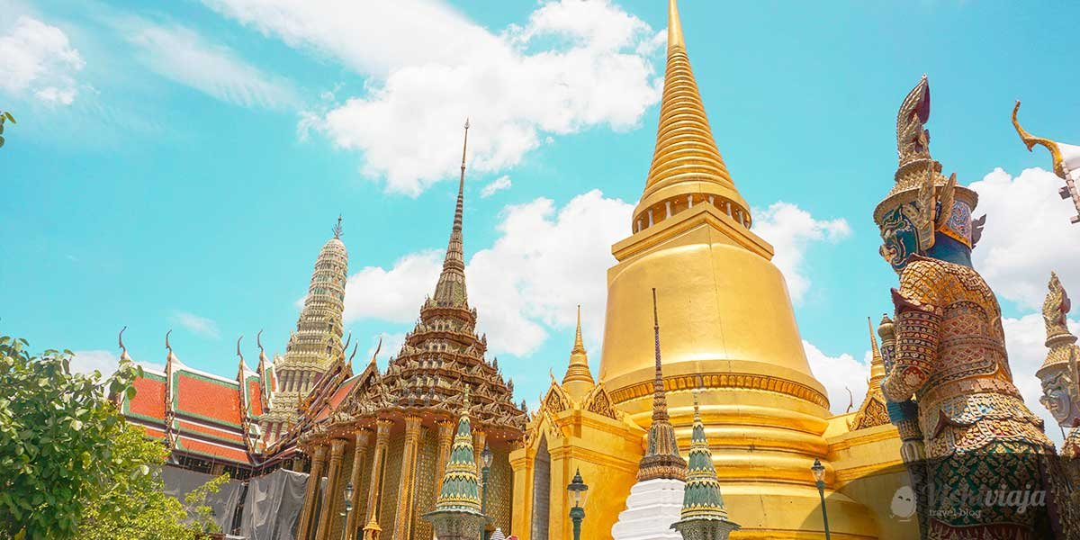 Thailand Trip Cost, Temple in Bangkok, Travel
