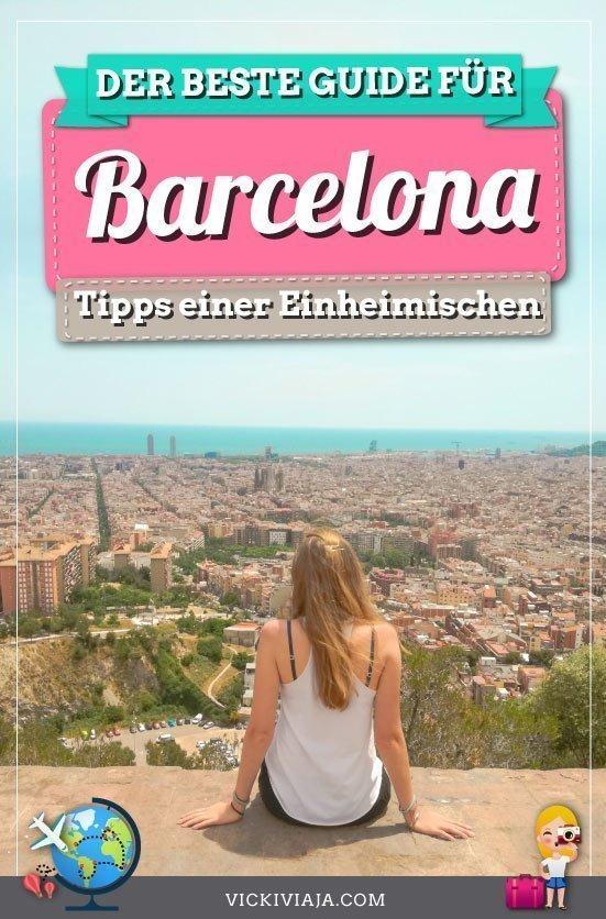 Sehenswürdigkeiten in Barcelona pin