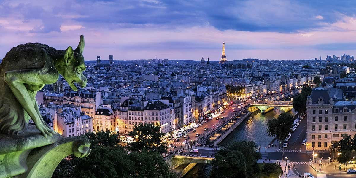 Most popular cities in Europe, Paris, France