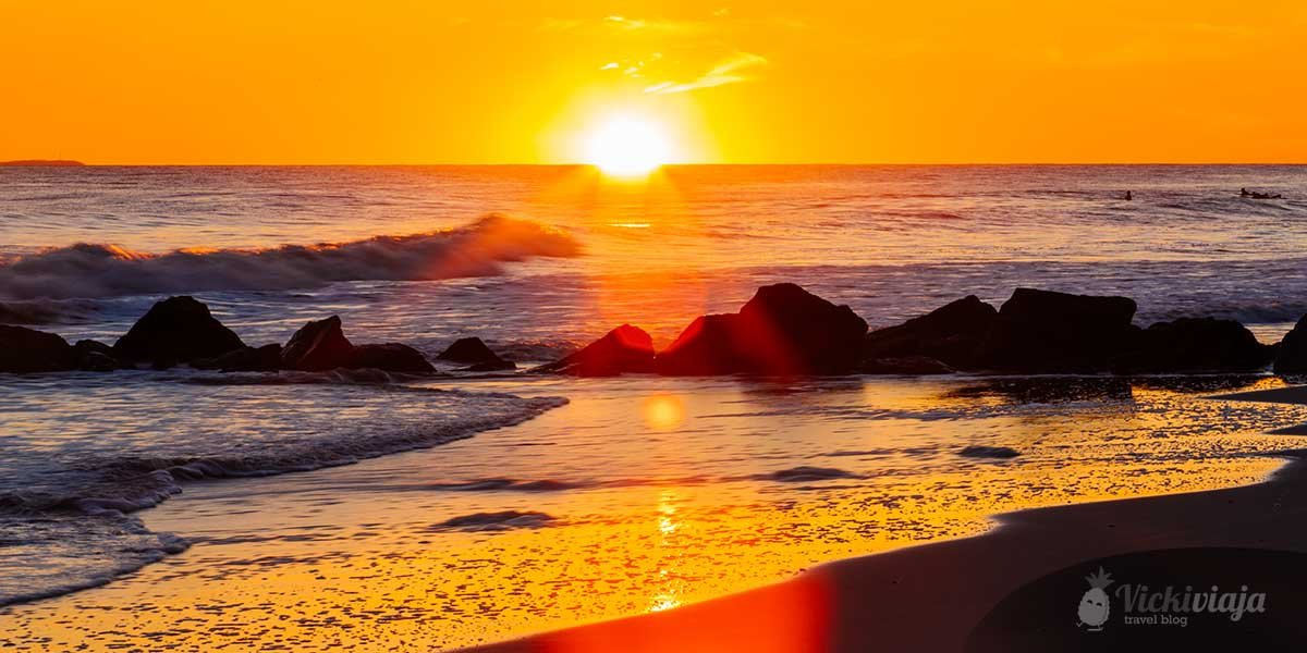 Best beaches in the US, Sunset at the beach