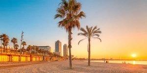 Spain itinerary 10 days, beach of Barceloneta