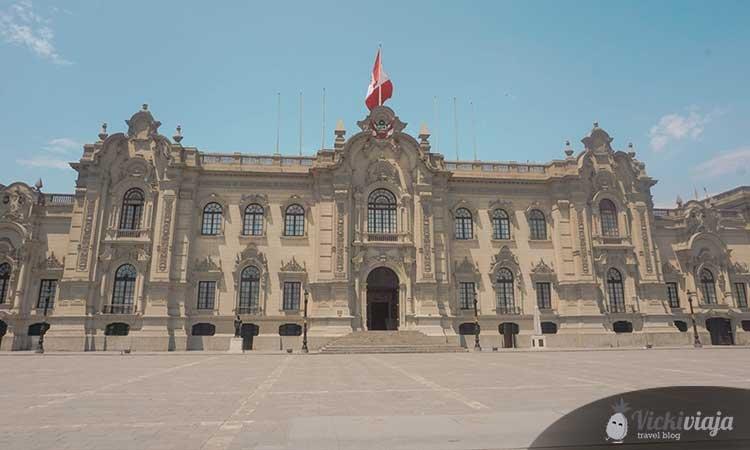 Palacio de Gobierno, Lima Palace
