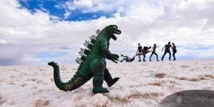 Salar de Uyuni 3 day Tour, dinosaur