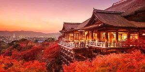 Ryokan Kyotos, Kiyomizu-dera Tempel