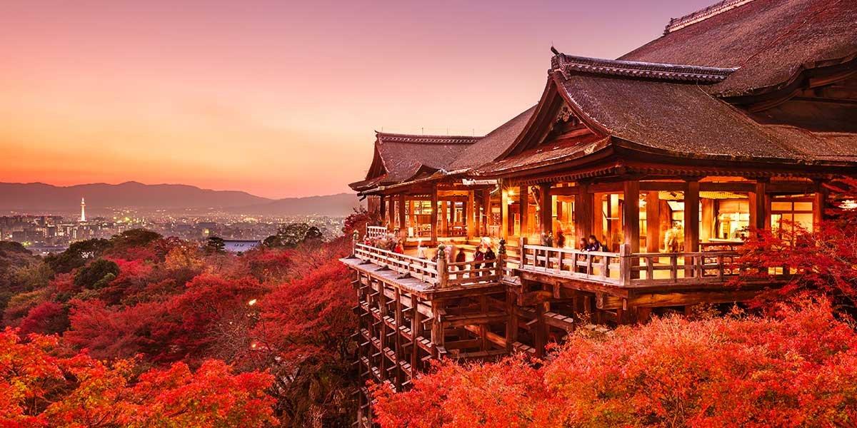 el mejor Ryokan Kyoto, templo Kiyomizu-dera