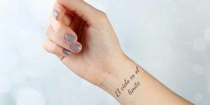 Spanische Sprüche Tattoo