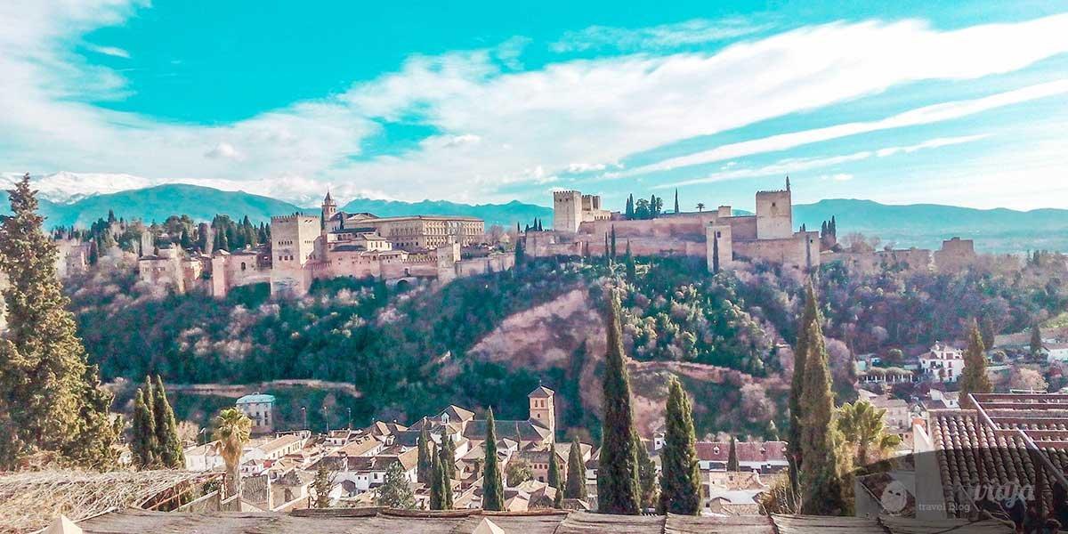 Ein Tag in Granada, Alhambra
