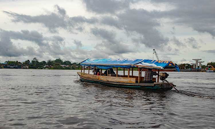 Iquitos, Amazon, boat