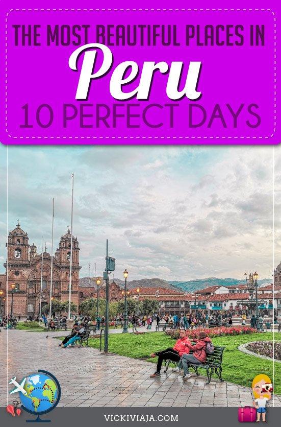 10 days in Peru pin