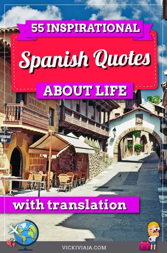 spanish quotes about life pin