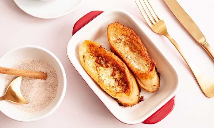 Torrijas, french toast made in spain