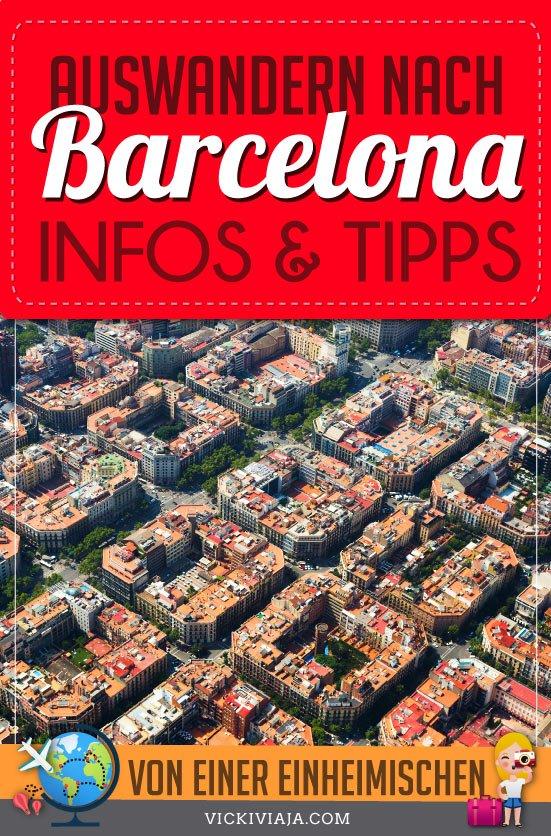 Auswandern nach Barcelona pin