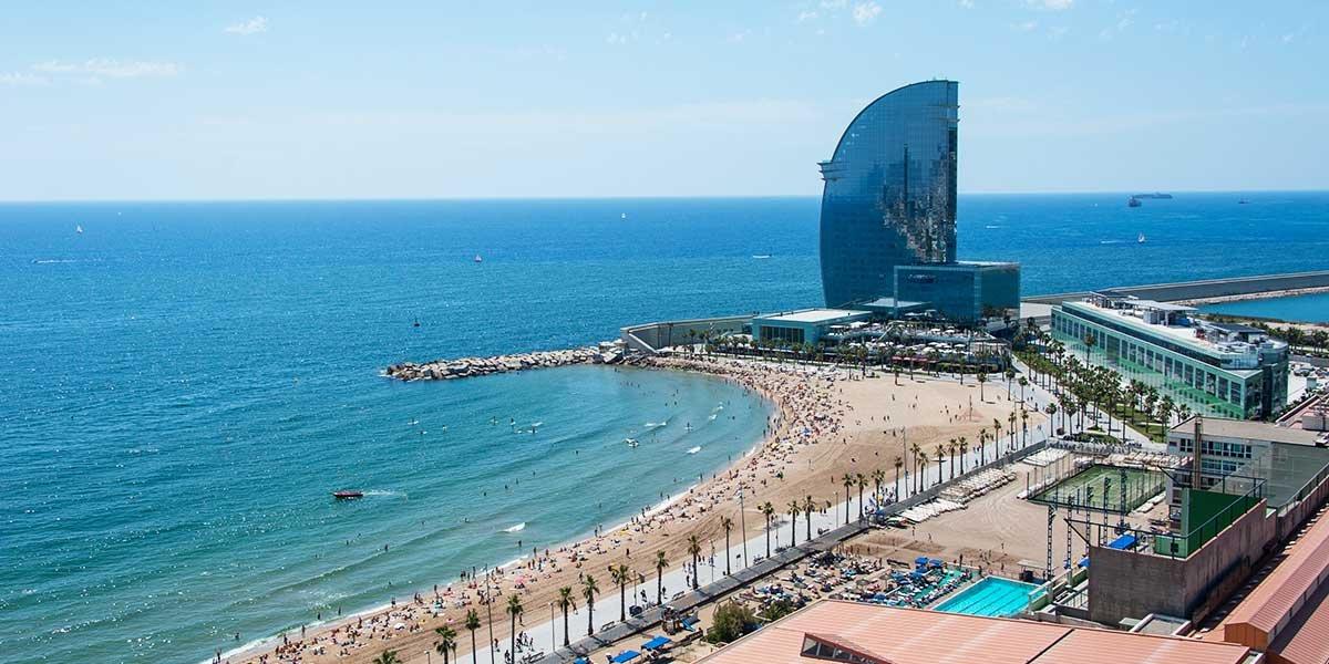 Hotels in Barcelona am Strand