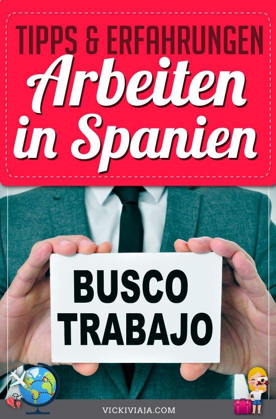 In Spanien arbeiten pin