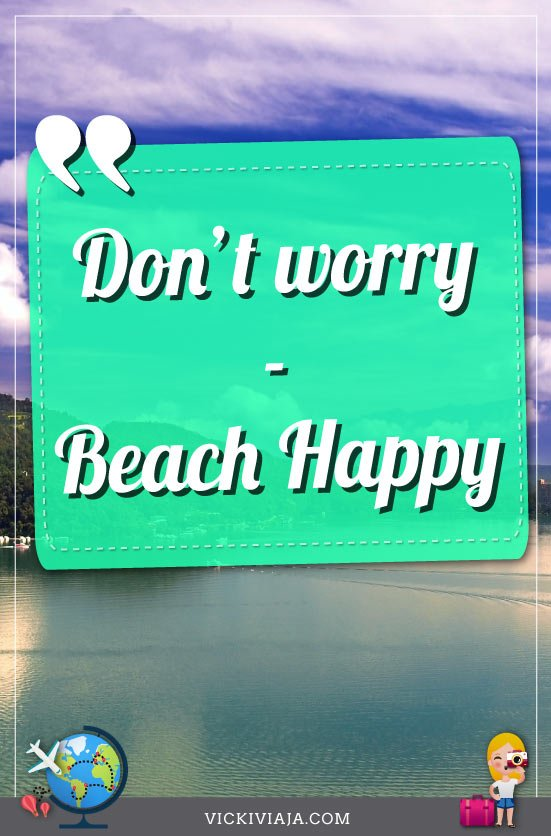 Beach Happy, Quotes about the sea