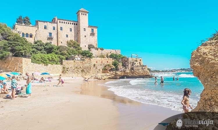 Cala Jovera, Tamarit castle