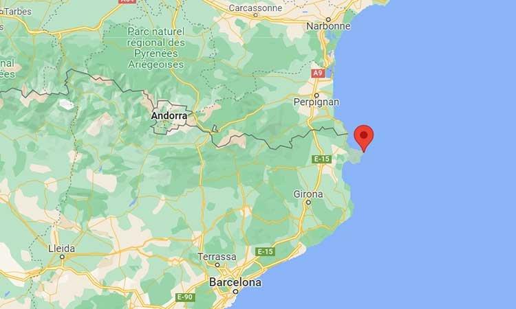 Cap de Creus Karte, Katalonien