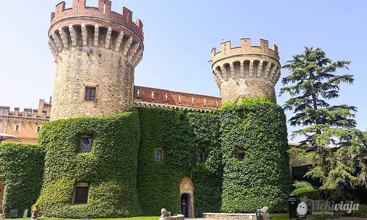 Castel de Peralada, Schloss