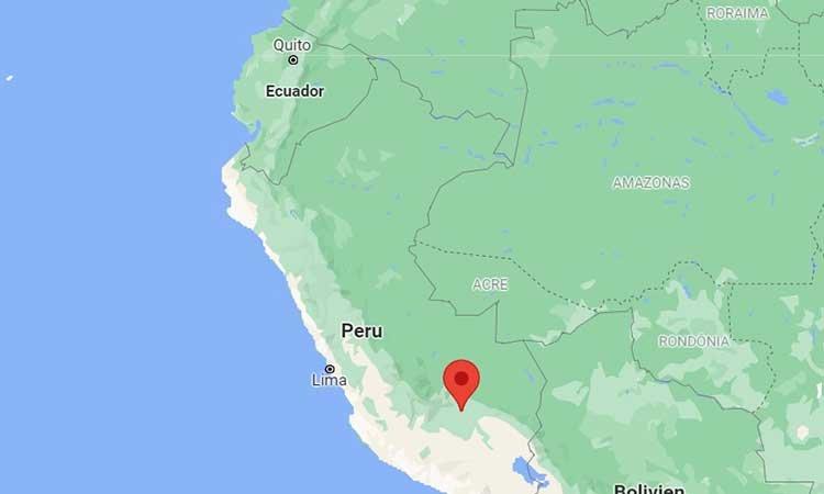 Cusco on the Peru map