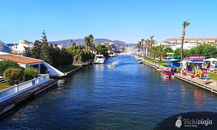 Kanal in Empuriabrava