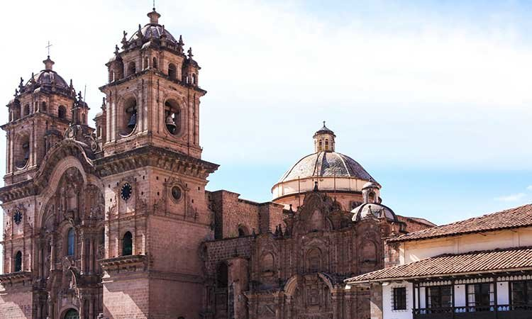 Iglesia de Compania de Jesus, church Cusco