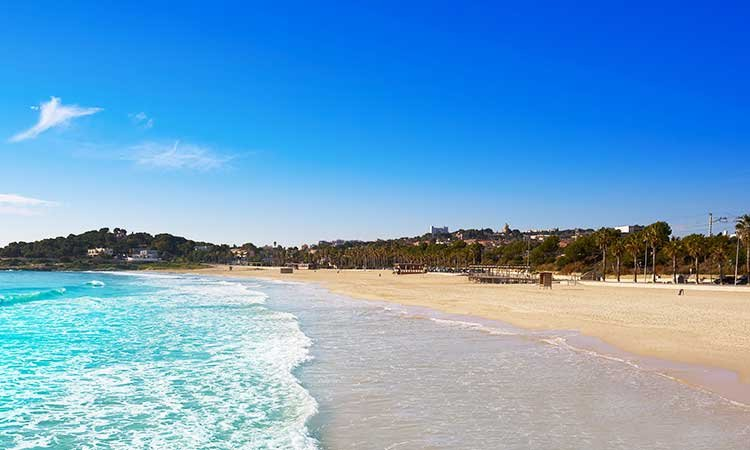 Playa l'Arrabasada, Tarragona beach
