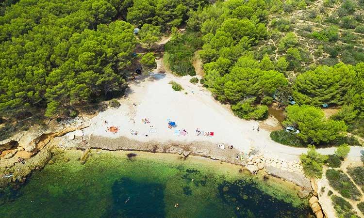 Platja Canyadell, Torredembarra, best beaches of Tarragona