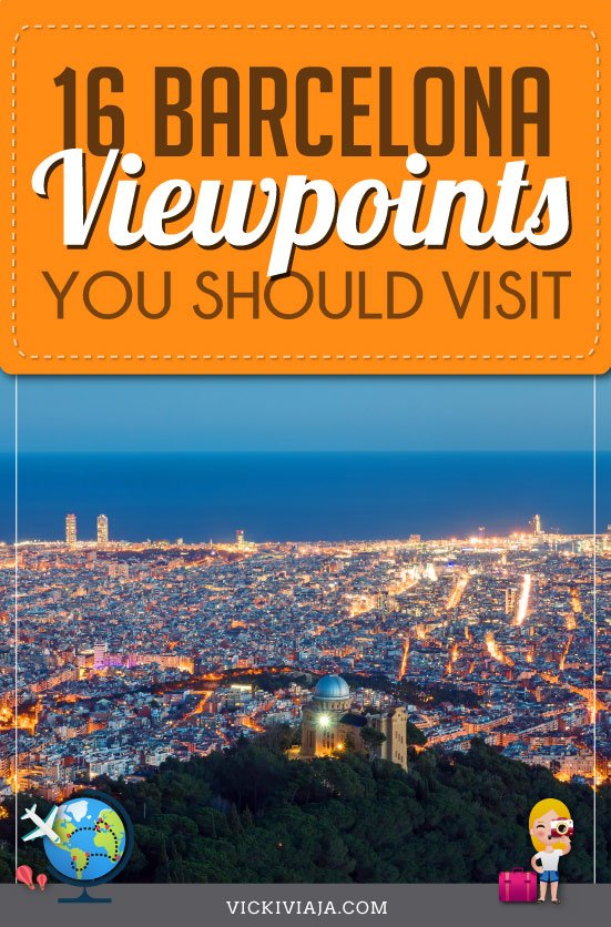 viewpoints in Barcelona pin
